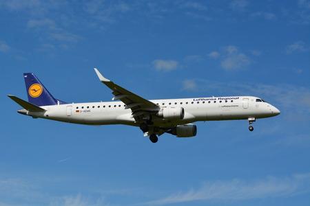 msn: Lufthansa Airbus Embraer 190195 - MSN 308 - D-AEME