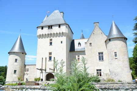touraine: Chateau Du Rivau  Rivau Castle Editorial