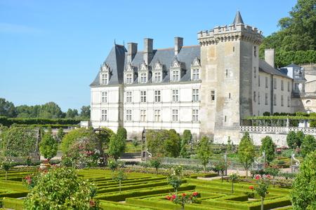 touraine: Chateau De Villandry  Villandry Castle
