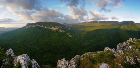The great canyon of the Crimea photo