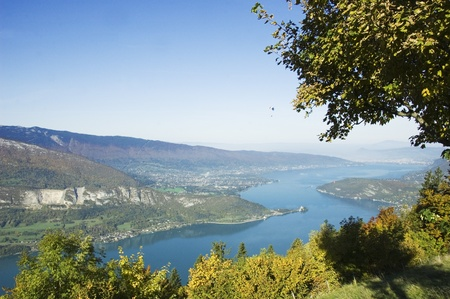 Panorama of Annecy photo