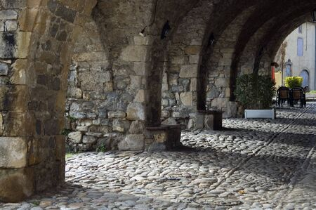 templars: Chain of stone arches in Aveyron