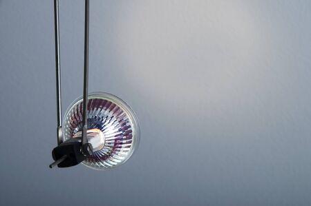 Back of halogen spotlight to illuminate a wall Stock Photo - 11254977