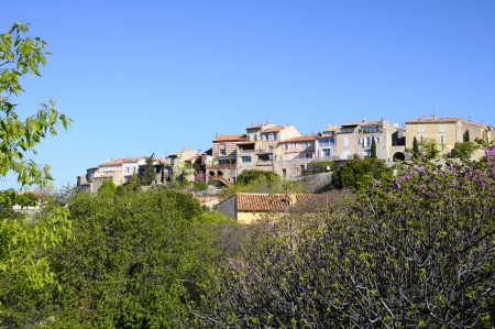feudal: Feudal village of Castellet, in Provence, France