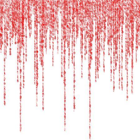 comunicación escrita: fondo de un verde de la matriz de las figuras binarias
