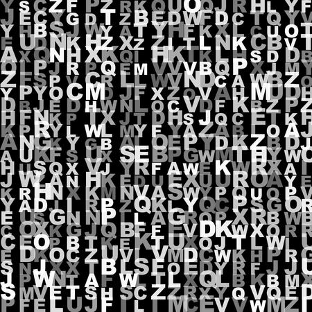 ABC alphabet letters for random background photo