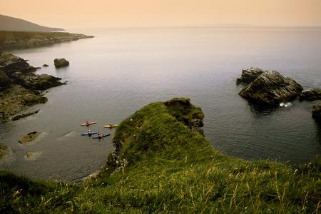 achill: Achill island coast in Ireland