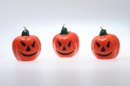 terrific: Scene of Halloween pumpkins for background Stock Photo