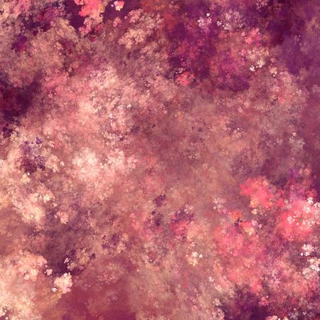 random: Background of random purple and pink fractal lines and curves