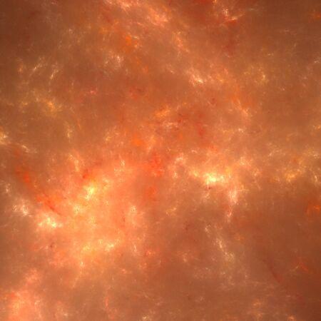 random: Background of random orange fractal lines and curves