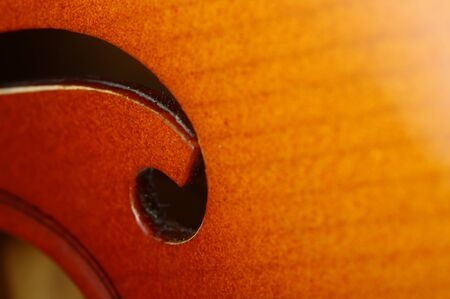 cellos: Macro of acoustic violin for musical background