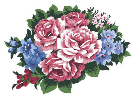 garden cornflowers: Bunch of Flowers