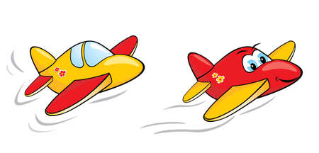 windscreen: Cartoon Airplanes