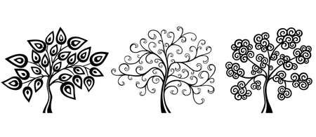 Fantasy Trees Illustration