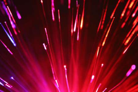 fiber optic lamp: Fiber Optic Stock Photo