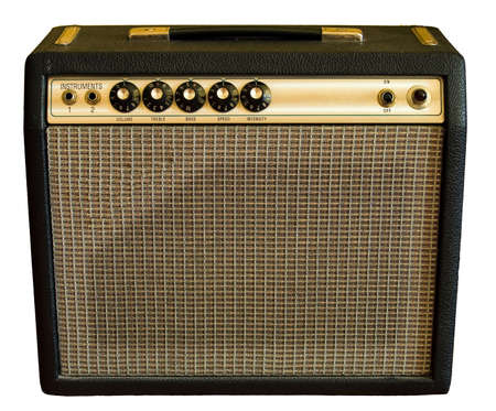 Vintage amplifier Stock Photo - 3109363