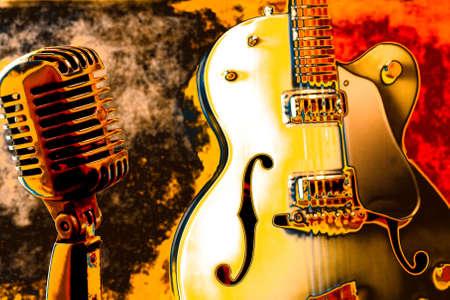 live entertainment: Background musicale Archivio Fotografico