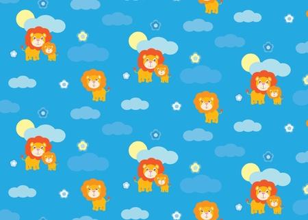 leon bebe: León del bebé sin patrón