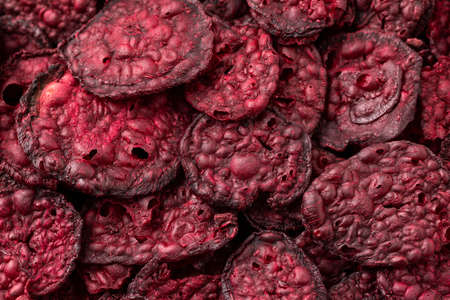 Healthy Baked Beetroot Chips