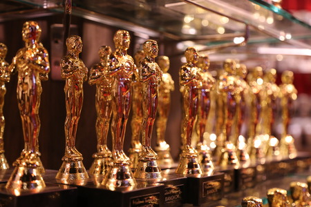 Oscar figurines - official opening of the waxworks \
