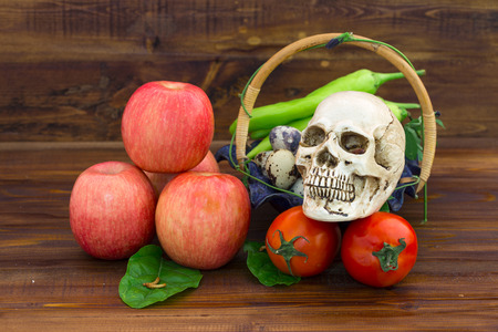 harmful: Consuming poisonous vegetables and fruit which may contain harmful chemicals can make health in ruin and intaking them continuously long time can kill people.