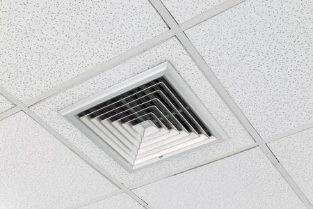 Ceiling Mounted Air Conditioner. Zdjęcie Seryjne - 58512842