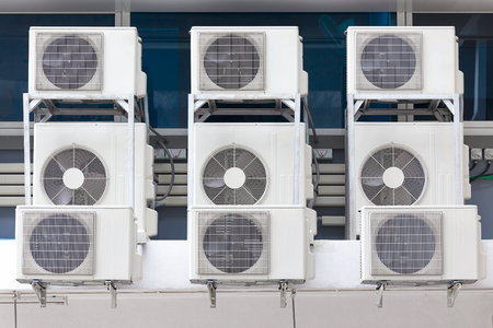 condensers: Air cooled condensers.