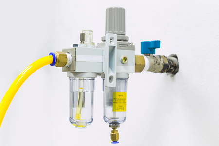 Compressed Air Filter Regulator Lubricator.