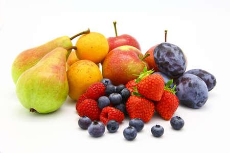 A lot of seasonal fruits