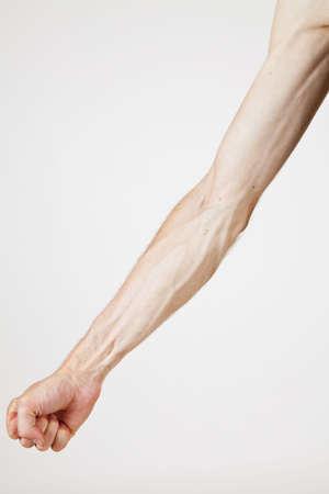 apparent: Veins of a strong man
