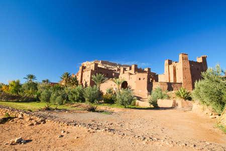 A Castel in the Moroccain desert