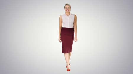 Beautiful sexy brunette woman business office style fashion clot
