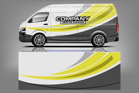 Van Car Wrap design per azienda
