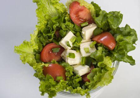 sallad: sallad in a bowl