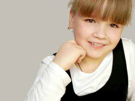 Joyful child                                photo