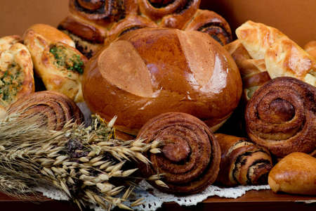 Bread group Stok Fotoğraf