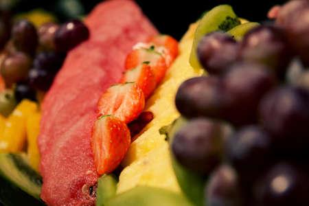 Fresh Fruits. Healthy Food