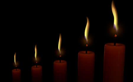 Candles Stok Fotoğraf