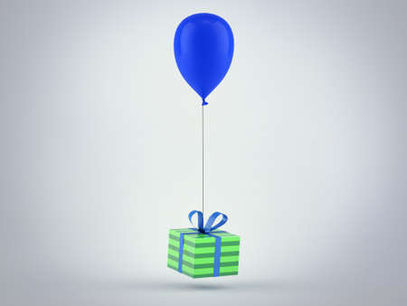 Gift with Balloon