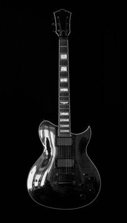 black: black guitar