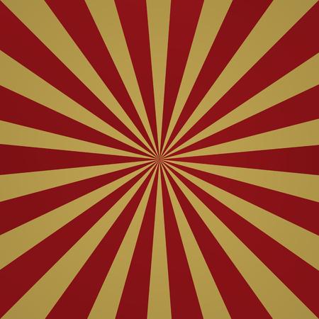 Donkerrode grunge zonnestraal achtergrond. Stralen van de zon abstract behang. vector illustratie