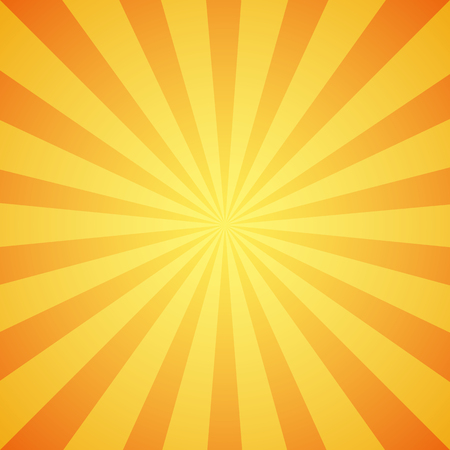 sunbeam background: Yellow grunge sunbeam background. Sun rays abstract wallpaper. Vector illustration