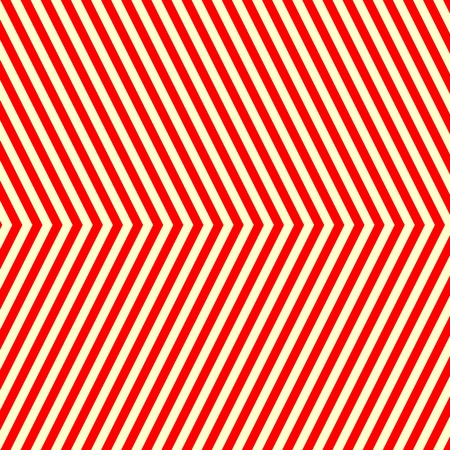 corduroy: Diagonal striped red white pattern. Abstract repeat straight lines texture background. Vector illustration Illustration