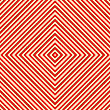 corduroy background: Diagonal striped red white seamless pattern. Abstract repeat straight lines texture background. Vector illustration