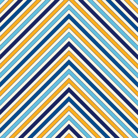strip structure: Seamless pattern with symmetric geometric ornament. Zigzag bright ethnic abstract background. Chevron abstract repeated wallpaper. Vector illustration