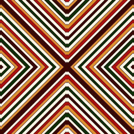 motivos navideños: Patrón transparente en los colores tradicionales de la Navidad. Brillante resumen de antecedentes ornamentales. adornos étnicos y tribales. Puede ser utilizado para papel digital, impresión textil, relleno página. ilustración vectorial