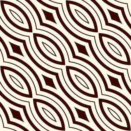 astract: Outline seamless pattern with geometric ornament. Modern style astract background. Digital paper, textile print, page fill. Vector art