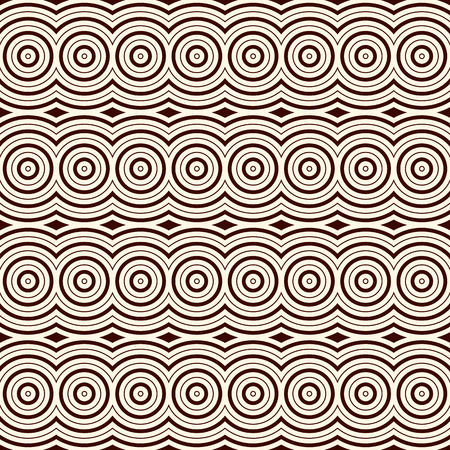 astract: Outline seamless pattern with geometric ornament. Modern style astract background. Digital paper, textile print, page fill. art
