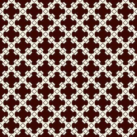 繰り返される幾何学的な数字でシームレスなパターンを説明します。観賞用の抽象的な背景。東洋のモチーフ。繊維印刷、ページ入力のデジタル ペ