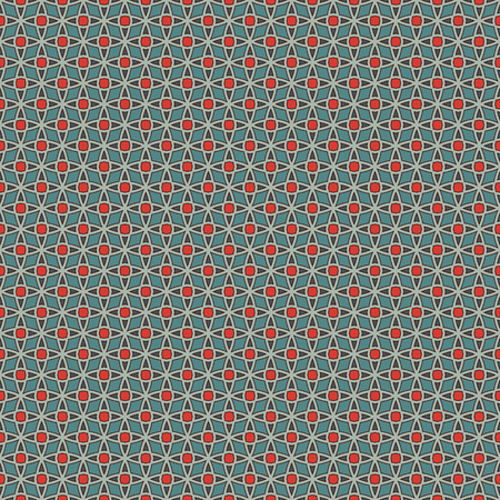 lattice window: Seamless pattern with stylized repeating stars. Mosaic wallpaper. Oriental geometric ornament. Tracery texture.